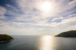 High angle view island and Andaman sea
