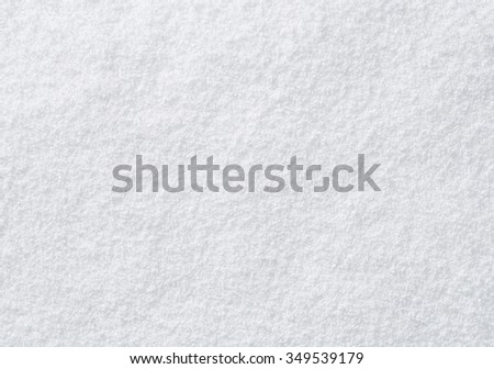 High angle view of snow texture, background with copy space #349539179