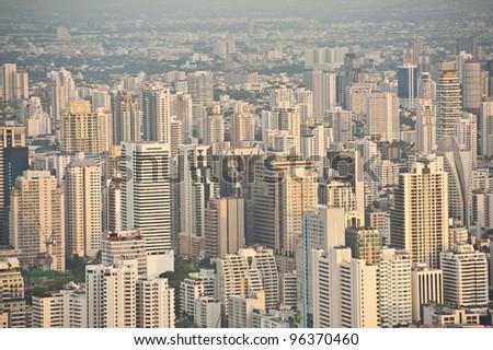High Building at Bangkok, Thailand