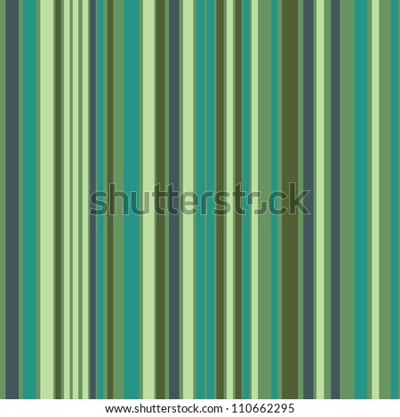 High contrasting green in a vertical stripes composition
