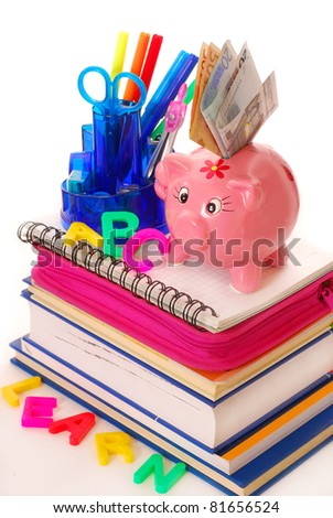 high costs for equipping the pupil at the beginning of  the school year