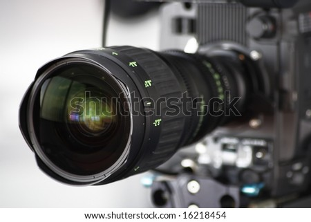 high definition hd cam camera lens close up