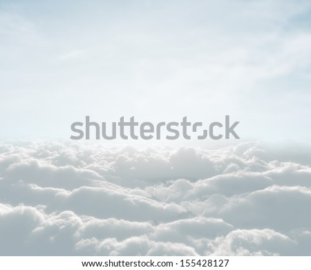 High Definition Skyscraper With Clouds