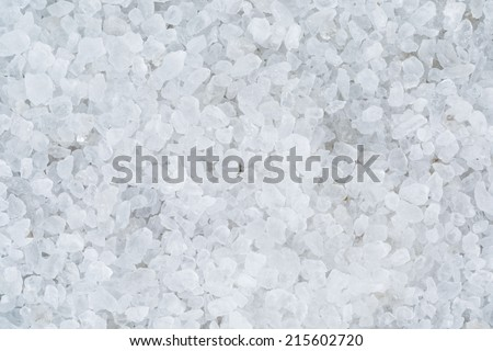 high detailed background from sea salt, directly above