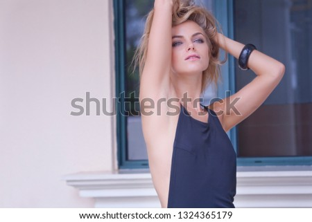 High fashion beautiful model #1324365179