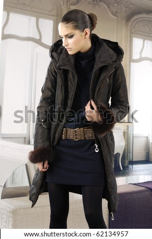 stock-photo-high-fashion-model-in-autumn-winter-clothes-posing-in-the ...
