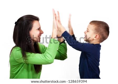 HIgh five, hand gesture