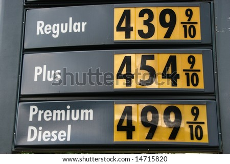 high gas price