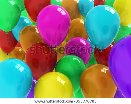 stock-photo-high-glossy-air-baloons-with