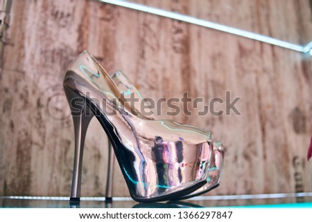 high heeled shoes #1366297847