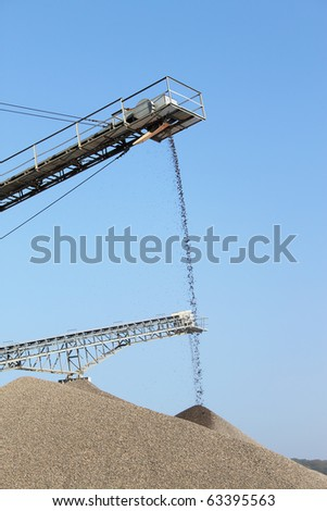 high iron transporter for sand or stone