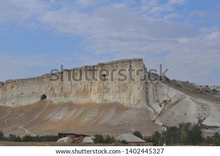 High majestic white rock #1402445327