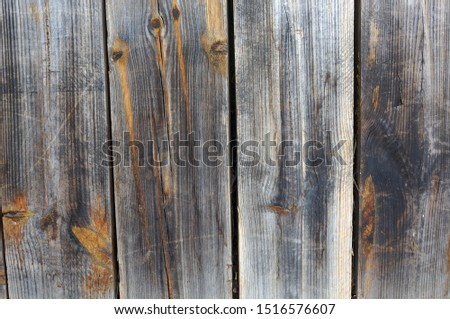 High natural wood panels in faded colors