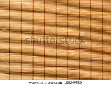 High Quality Bamboo Mat texture background