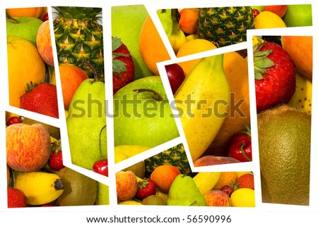 High quality collection of fruits.fresh fruit. part one