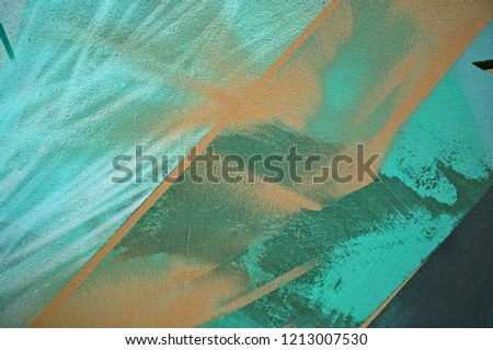 High quality creative background for ads, banners, holiday cards. Conceptual emerald, grey and cadet blue fashion background.