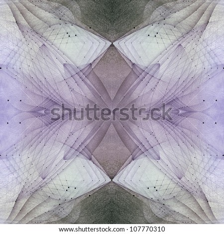 High quality digitally abstract fantastic astral energy in space.
