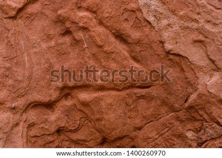High quality high resolution texture of the red sand rock from Colorado. Red rock texture of the cliffs.