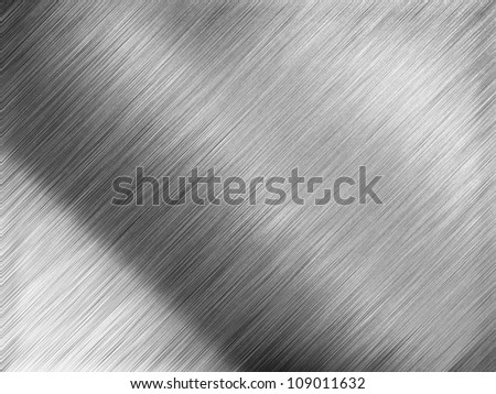 High quality texture of metal - stock photo