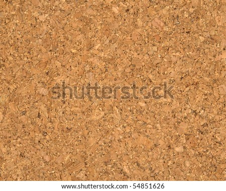 High quality texture of the cork board, the high accuracy of the details