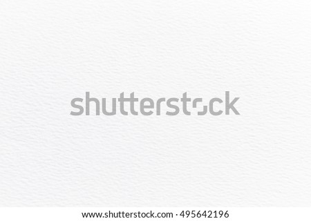 High quality watercolor paper. White Paper background #495642196
