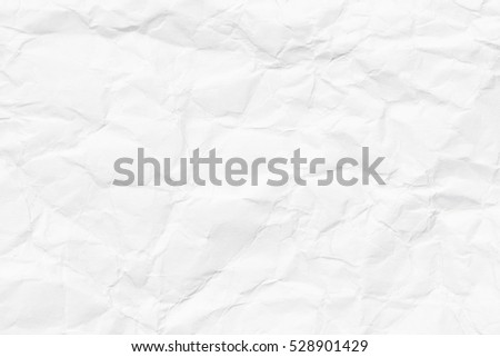 high quality white crumpled paper texture background