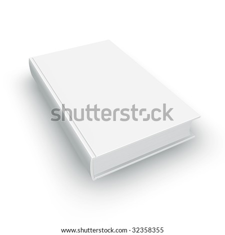 High-res blank book. ideal to create your own compositions for  e-box, e-book, software box or any box of your choice.