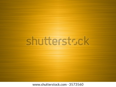high resolution brushed gold plate