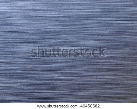 High resolution brushed metal. Horizontal grain. Actual photo of brushed metal. Focus on entire surface.