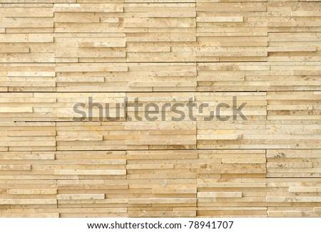High resolution cream brick wall texture High resolution cream - stock photo