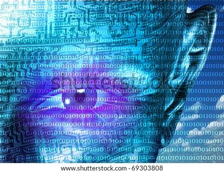 High Resolution 3D Illustration Technology Human