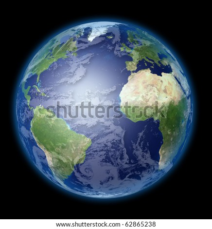 High Resolution Earth