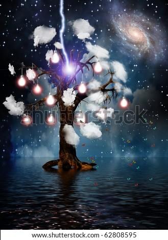 High Resolution Eternal Tree