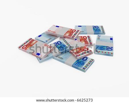 High resolution image EVR. 3d illustration over white backgrounds. Stok fotoğraf ©