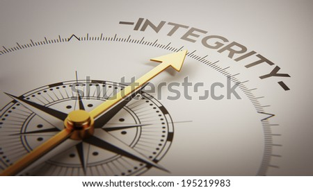 High Resolution Integrity Concept Stock photo ©