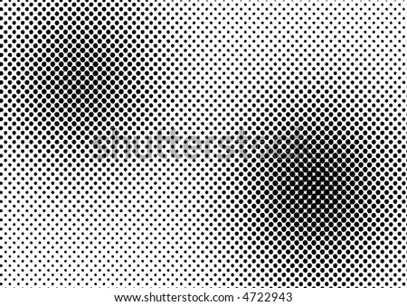 High resolution JPG of a halftone dots for backgrounds and design