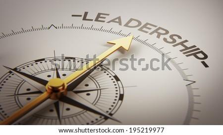 High Resolution Leadership Concept