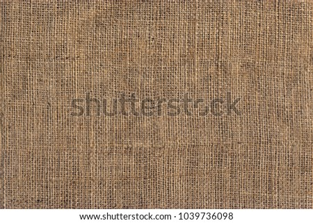 High Resolution Natural Brown Burlap Canvas Coarse Grain Grunge Background Texture