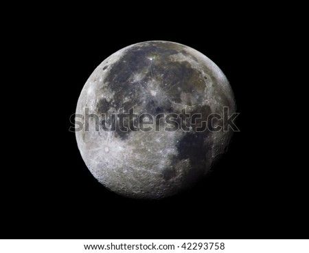 High Resolution picture of a full moon