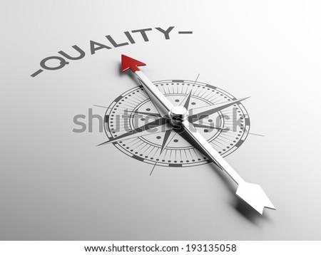 High Resolution Quality Concept