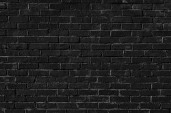 high resolution seamless black brick wall texture. texture pattern for continuous replicate. black brick wall texture. Outdoor Vintage black Brickwall Frame Background. black brick texture.