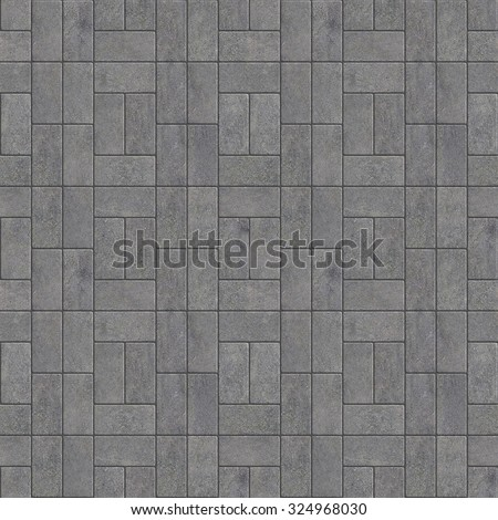 Seamless Texture Of Paving Stones Gray Tile Background A High