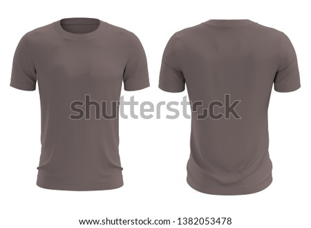 High Resolution T-Shirt Stock Photo Ideal For Prints & Web Product Displays