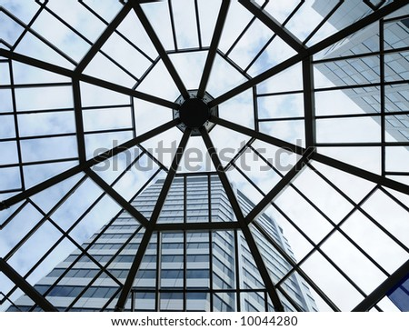 High-rise Building Through Skylight #10044280