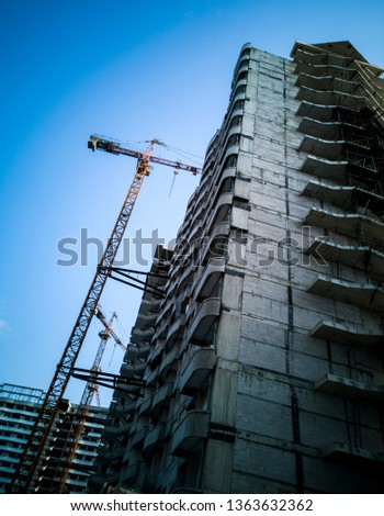 High-rise building under construction #1363632362