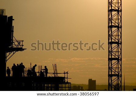 high-rise building under construction