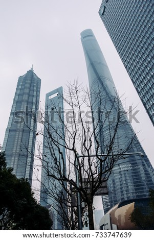 high rise buildings in shanghai'...