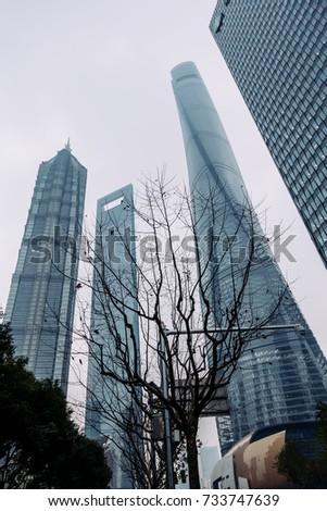 high rise buildings in shanghai'...