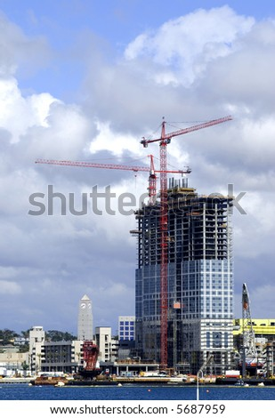 High-Rise Under Construction.