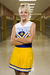 High School Cheer Leader.